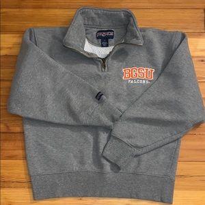 BGSU Zip Up Sweatshirt
